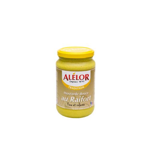 moutarde-douce-au-raifort - Alélor - Maison Schmid Traiteur