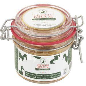 Foie Gras de Canard Entier 180 GR - Georges Bruck - Maison Shmid traiteur