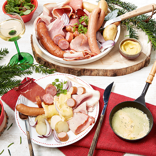Raclette Alsacienne - Kit de dégustation